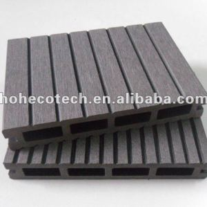 Durable crack and rot resistant,anti-UV hollow wpc decking