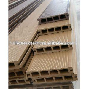 Villa/Hotel floor decoration plastic composite deck furniture wood flooring