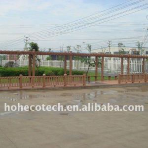 Good resistance to water,pest,moist wpc decking/flooring boards Composite Decking