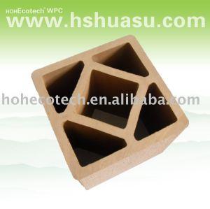 Wpc wood plastic composite esgrima/. Trilhos post