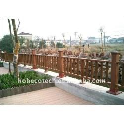 屋外に防水に囲う公共の場の装飾のwpcの柵のwpcの囲うこと