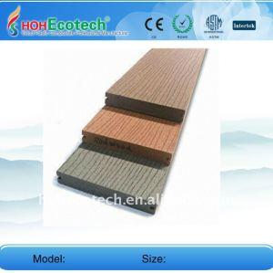 Différentes couleurs pour choisir le Decking composé en plastique en bois de Decking extérieur de tuile de /floor de plancher de WPC