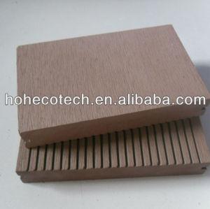 Laminate plastic decorative WPC decking floor