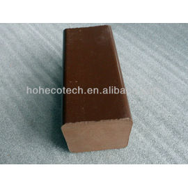 cheap solid wpc post, kneel, water proof wpc wood plastic composite