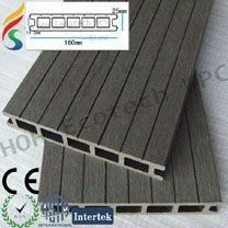 Hohecotech wpc decking composto deck ao ar livre mobiliário/ deck de plástico