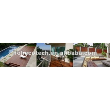 Beautiful recyclable WPC outdoor decking/flooring projects (competitive price)