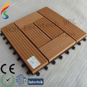 cheap wood plastic tile