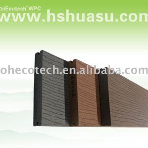plancher extérieur de decking de wpc d'ecotech