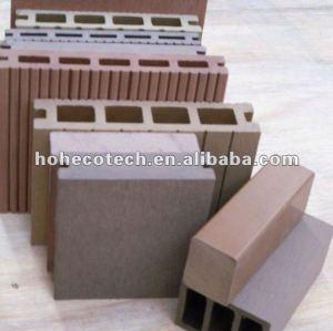 Engineered outdoor decking and flooring (cedar/copper brown/wood/sandalwood/coffee/grey/dark grey)