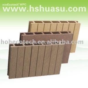 plancher extérieur composé en plastique en bois populaire de decking