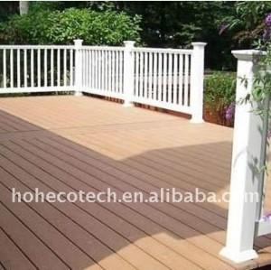 Decking public de wpc de décoration de decking/plancher composé de decking