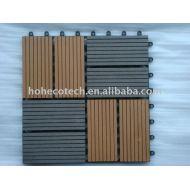 WPCの木製のプラスチック合成のサウナ板デッキのタイル