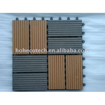 WPC Wood Plastic Composite Sauna Board Deck Tile