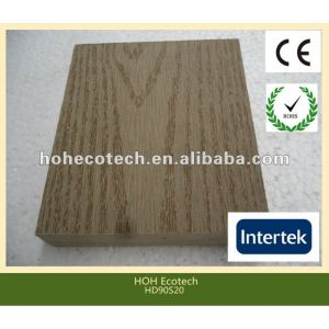 Durable hot sale eco-friendly wpc solid decking (water proof, UV resistance, resistance to rot and crack)