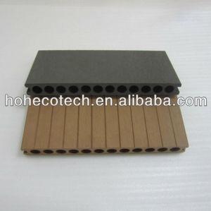 New 250mm width wpc decking outdoor waterproof wood plastic composite decking/composite flooring
