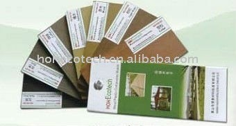 conseil de plastique en bois environnemental de decking