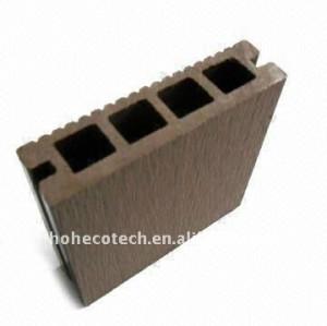 Decking composé en plastique en bois creux de garantie de qualité de plancher de Woodlike (CE, ROHS, ASTM) 140*30mm/decking plastique de plancher