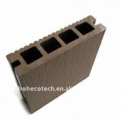 Woodlikeのフロアーリングの質の保証(セリウム、ROHS、ASTM) 140*30mmの空の木製のプラスチック合成のdeckingかフロアーリングのプラスチックdecking
