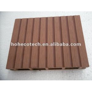 100% recycled wpc outdoor hollow decking (wpc flooring/wpc wall panel/wpc leisure products)