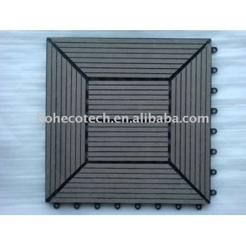 bEST seller !!Waterproof WPC DiY Tile (PASS CE, ROHS, ASTM,ISO9001,ISO14001, Intertek) wpc tile
