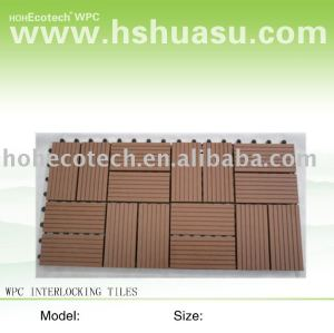 Deck wpc telhas