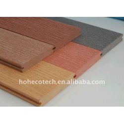 chosoe WPCのdeckingへの7色は木製のプラスチック合成のフロアーリングをタイルを張る