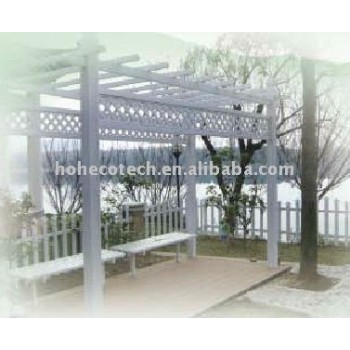 wpc decking board(wood plastic composite)