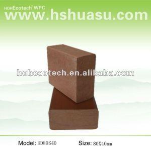 Impermeável& anti - uv ( composto plástico de madeira ) corrimão da escada wpc/ trilhos jardim/ guarda trilhos