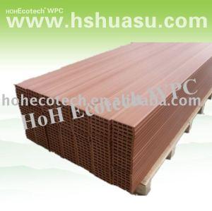 le bois aiment le plancher de composé de plancher de decking de wpc