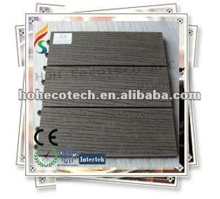 Panneau de plancher diy en plastique en bois respectueux de l'environnement chaud de la vente 300*300mm
