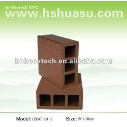 熱い販売法! (木製のプラスチック合成物)空のwpc階段柵または庭の柵または監視柵を防水しなさい