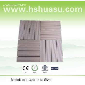 WPC Bathroom Tile Flooring