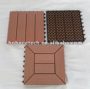 Portatile decking di wpc piastrelle/pavimento piastrellediceramica/sauna bordo/stanzadabagno diy piastrelle