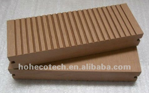 WPC decking used in building and garden