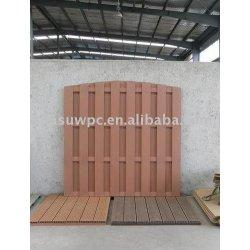 木材プラスチック複合材のガーデンフェンス/デッキの床
