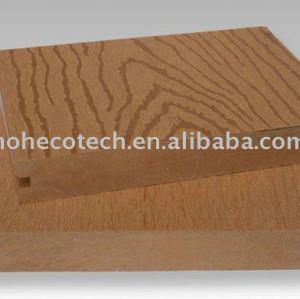 geprägtem massivholz kunststoff wpc deck