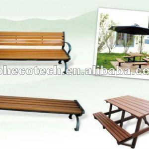wood plastic composite leisure desk