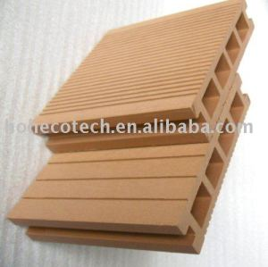 WPC hollow outdoor decking/flooring-CE