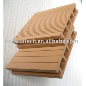 WPC hollow outdoor decking/flooring-CE