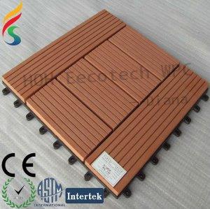 impermeável wpc bloqueio telhas decking