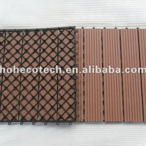 ( ce, rohs, astm, iso9001, iso14001, intertek ) al aire libre del wpc azulejo de piso