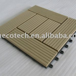Le wpc populaire DIY couvre de tuiles HS30S30-6 300X300MM