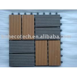 Huasu WPC Sauna Boarding(ISO9001,ISO14001,ROHS)
