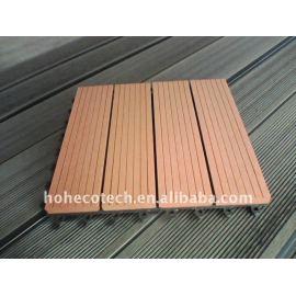 wpc (Wood Plastic Composite)flooring/decking Non-Slip, Wear-Resistan plastic wood decking wood flooring