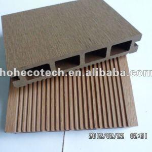 Nouveaux decking du modèle 140x25 d'escompte de HOH Ecotech/carrelage composés en plastique en bois respectueux de l'environnement