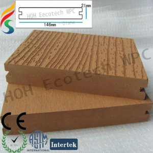 ecológica wood plastic composite câmara