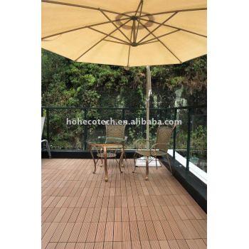 wpc tile garden wood floor CE,ASTM,ISO