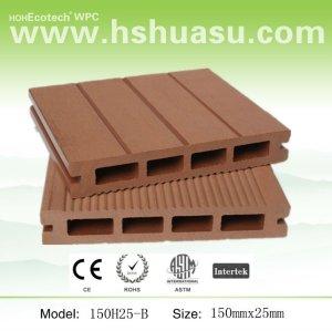 Stützbares Qualität eco freundlicher hölzerner zusammengesetzter Decking