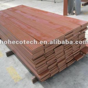 Durable venta caliente compuesto plástico de madera suelo al aire libre/pisodeplástico de la cubierta