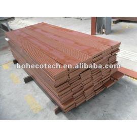 Durable hot sale wood plastic composite outdoor flooring/plastic flooring deck